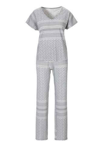 s.Oliver Pyjama, mit Allover-Druck kaufen