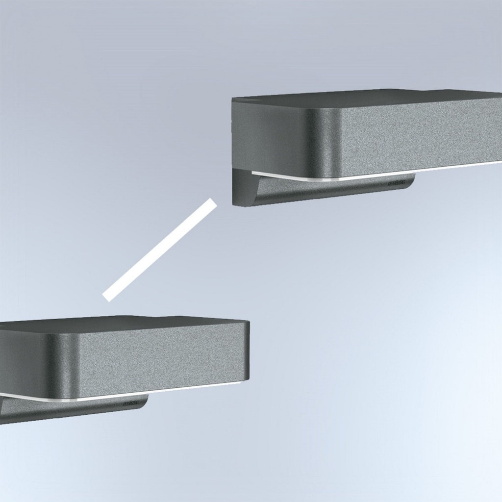 steinel Außen-Wandleuchte »L 800 LED iHF Connect«, LED-Board, 1 St., Warmweiß, 160° Erfassungsbereich