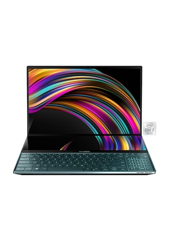 """Asus ASUS ZenBook Pro Duo UX581LV - H2045T »15,6"""" + 14,0"""" UHD Touch, i7, 512GB + 32 GB« kaufen"""
