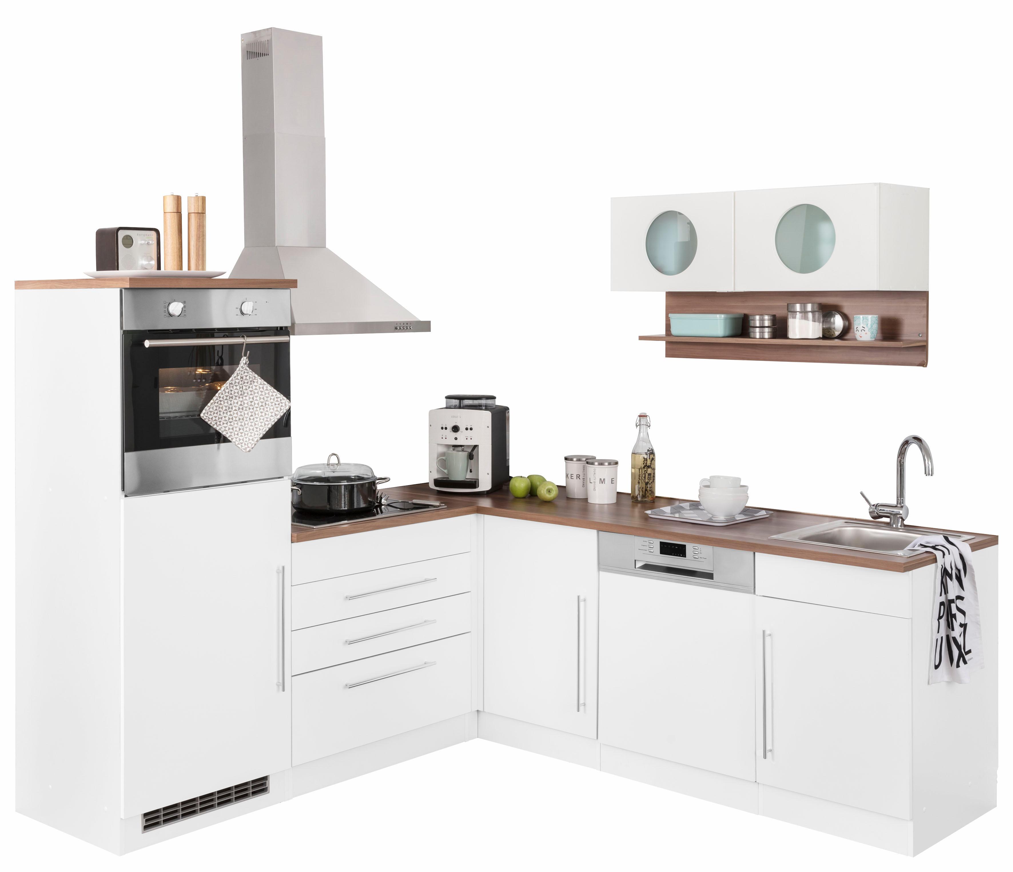 Winkelküche Keitum mit E-Geräten Stellbreite 200 x 220 cm