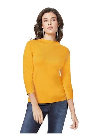 Creation L Pullover mit kurzem Stehkragen kaufen