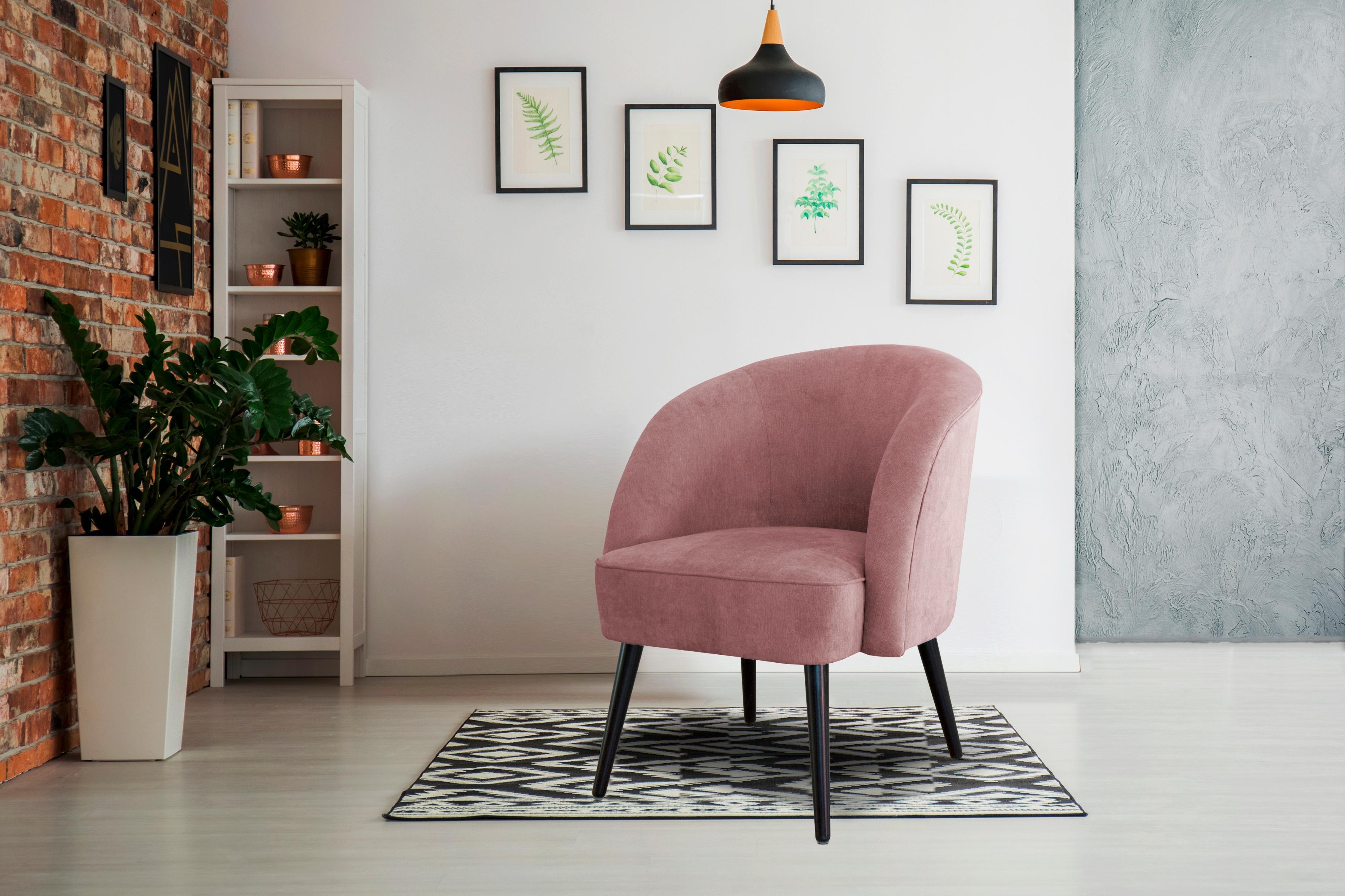 INOSIGN Sessel »Caren« mit Keder, auch als Speisemöbel verwendbar