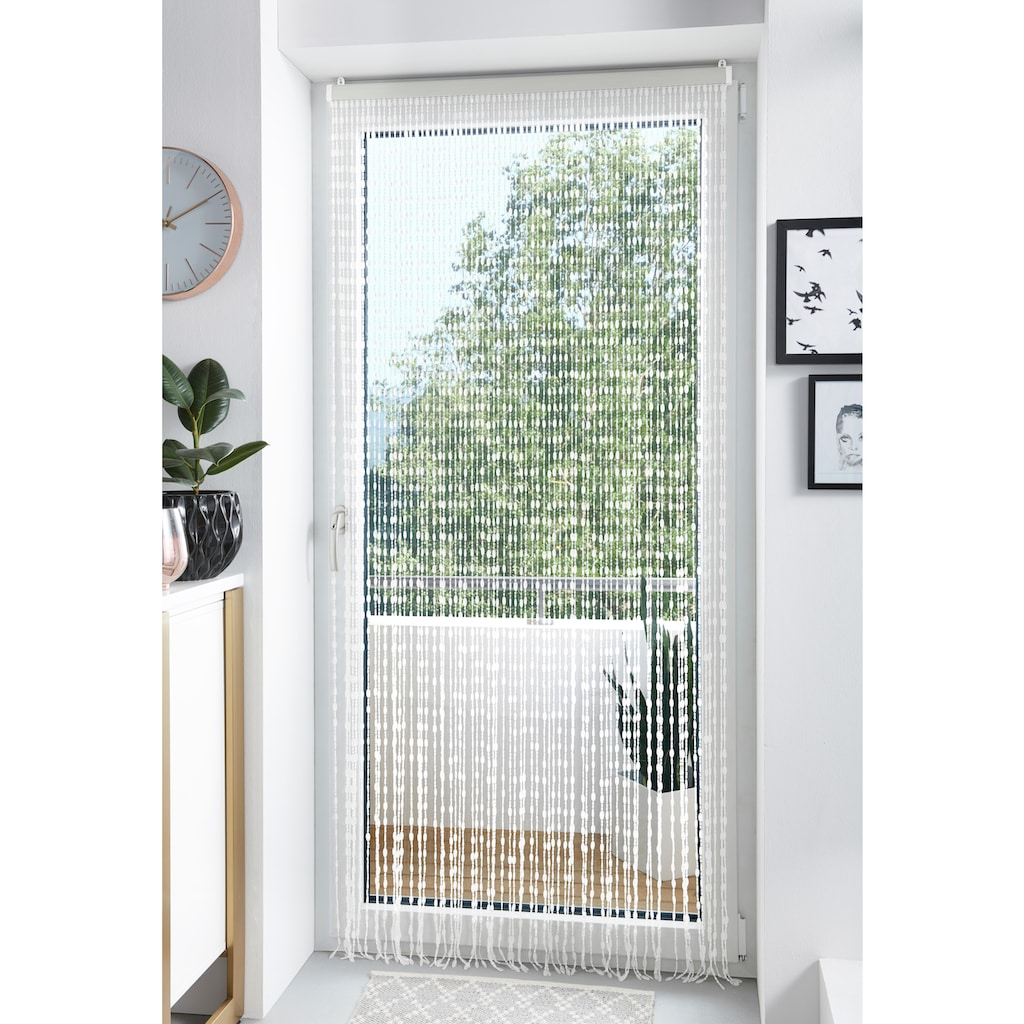 locker Türvorhang »Diamonds«, Kunststoff klar, 72 Stränge, 90x200 cm