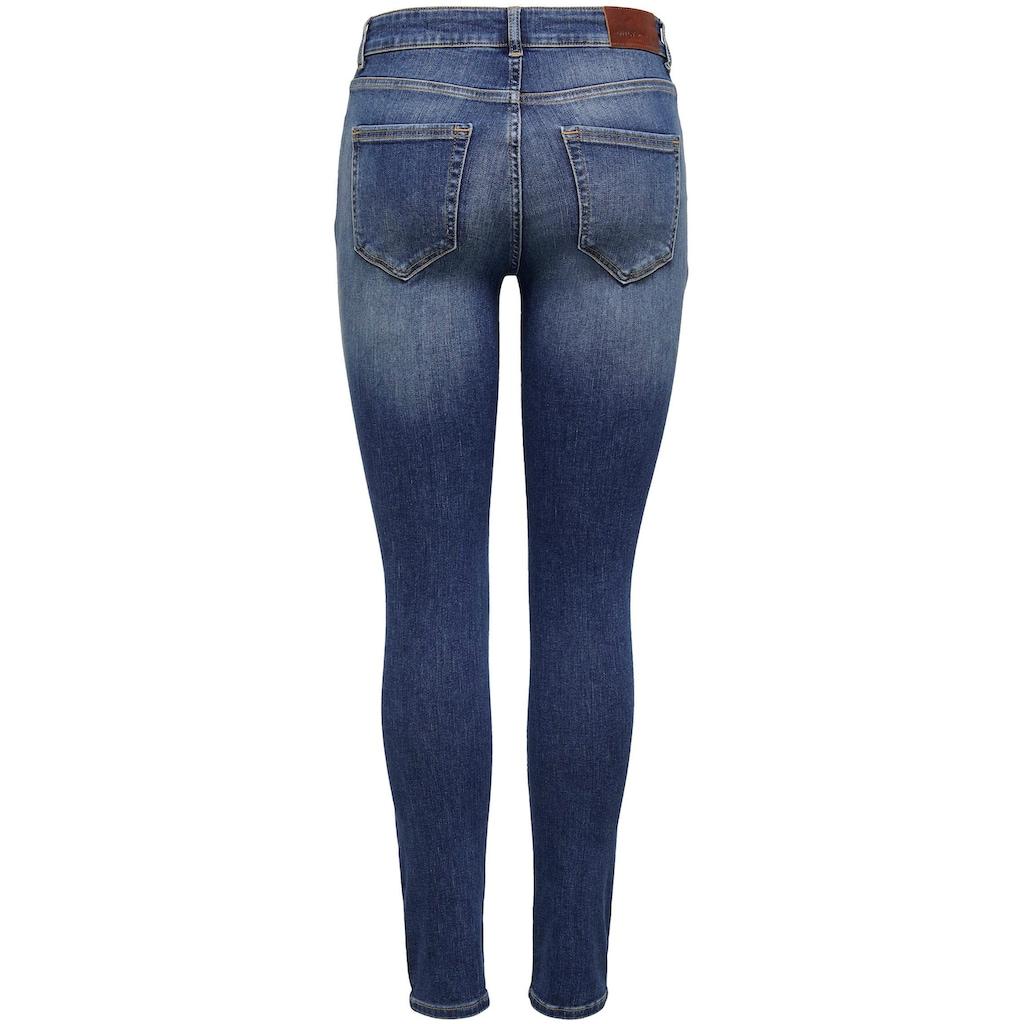 Only Skinny-fit-Jeans »ONLBLUSH«, mit Zipper am Beinabschluss