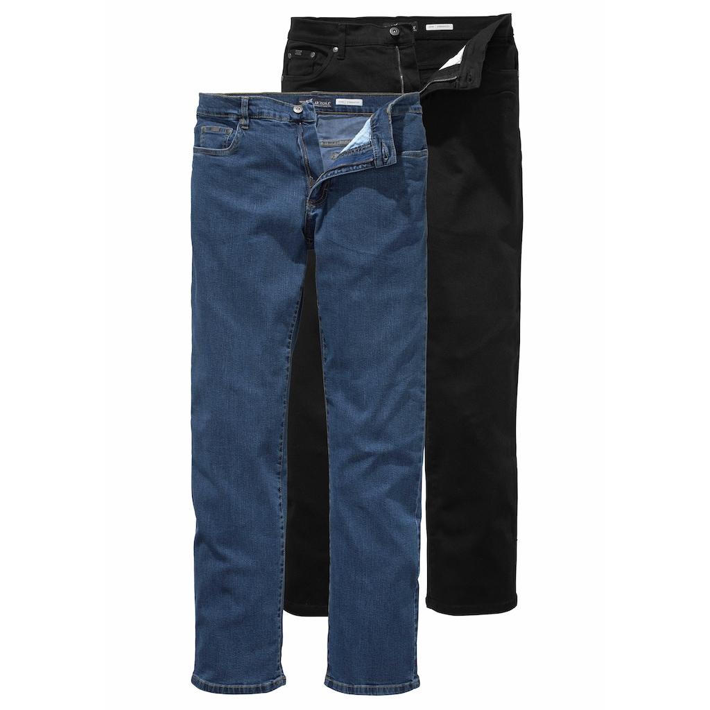Arizona Stretch-Jeans »John« (Packung, 2 tlg.)