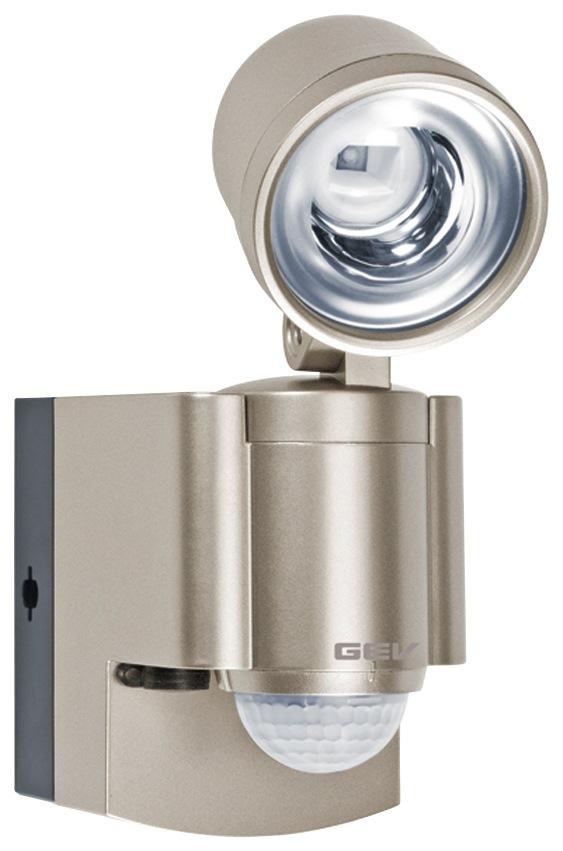 GEV, Batterie LED-Strahler LLL 14800 mit Bewegungsmelder