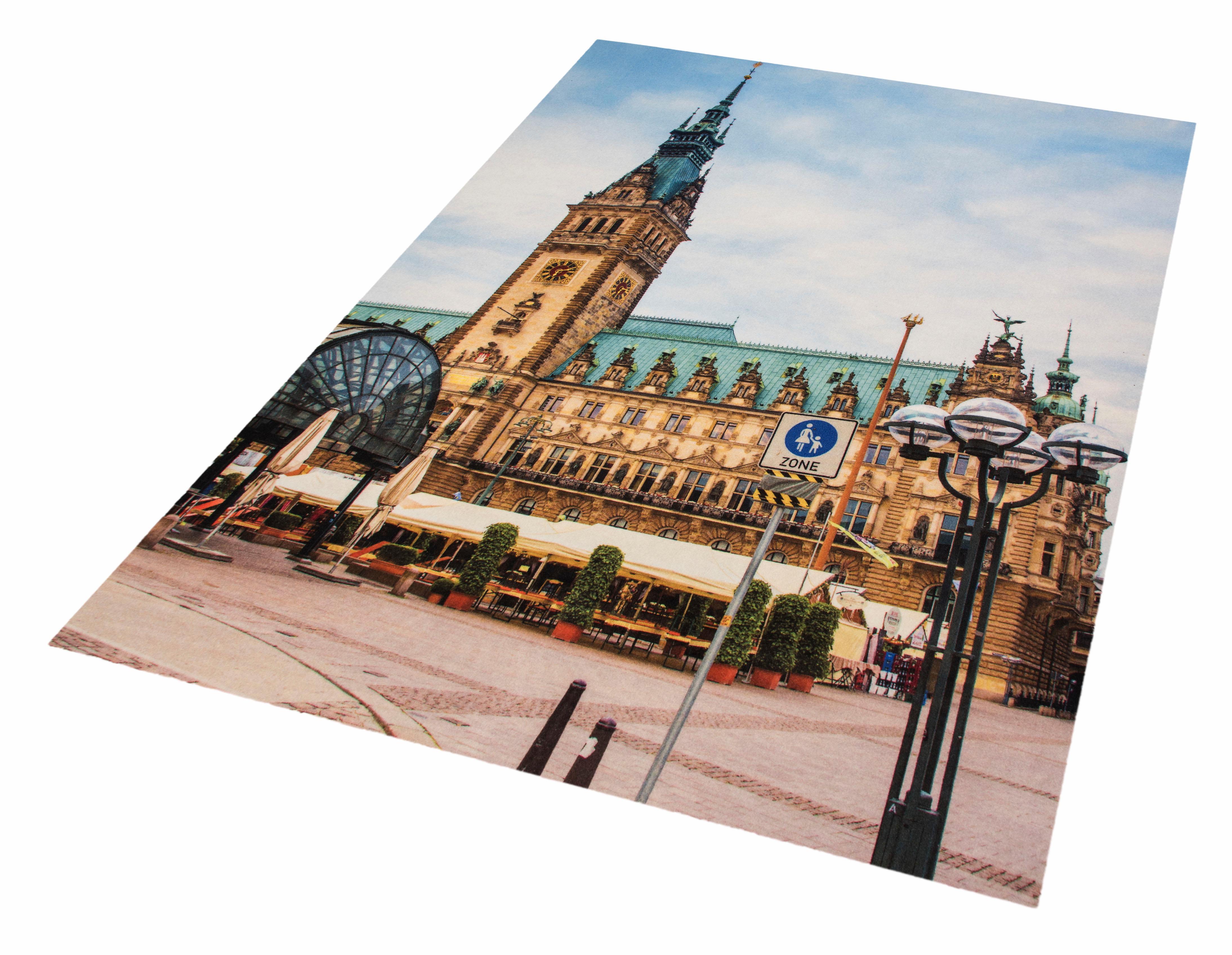Teppich Rathaus Hamburg HANSE Home rechteckig Höhe 6 mm maschinell getuftet