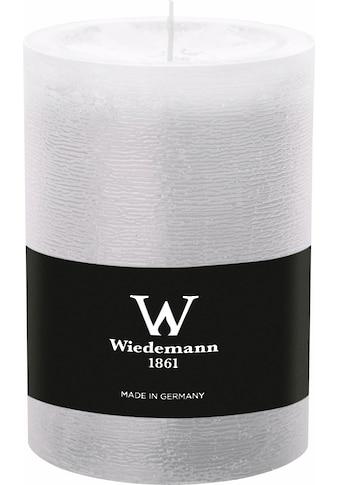 Wiedemann Stumpenkerze, mit Banderole, ca. Ø 9,8 cm kaufen