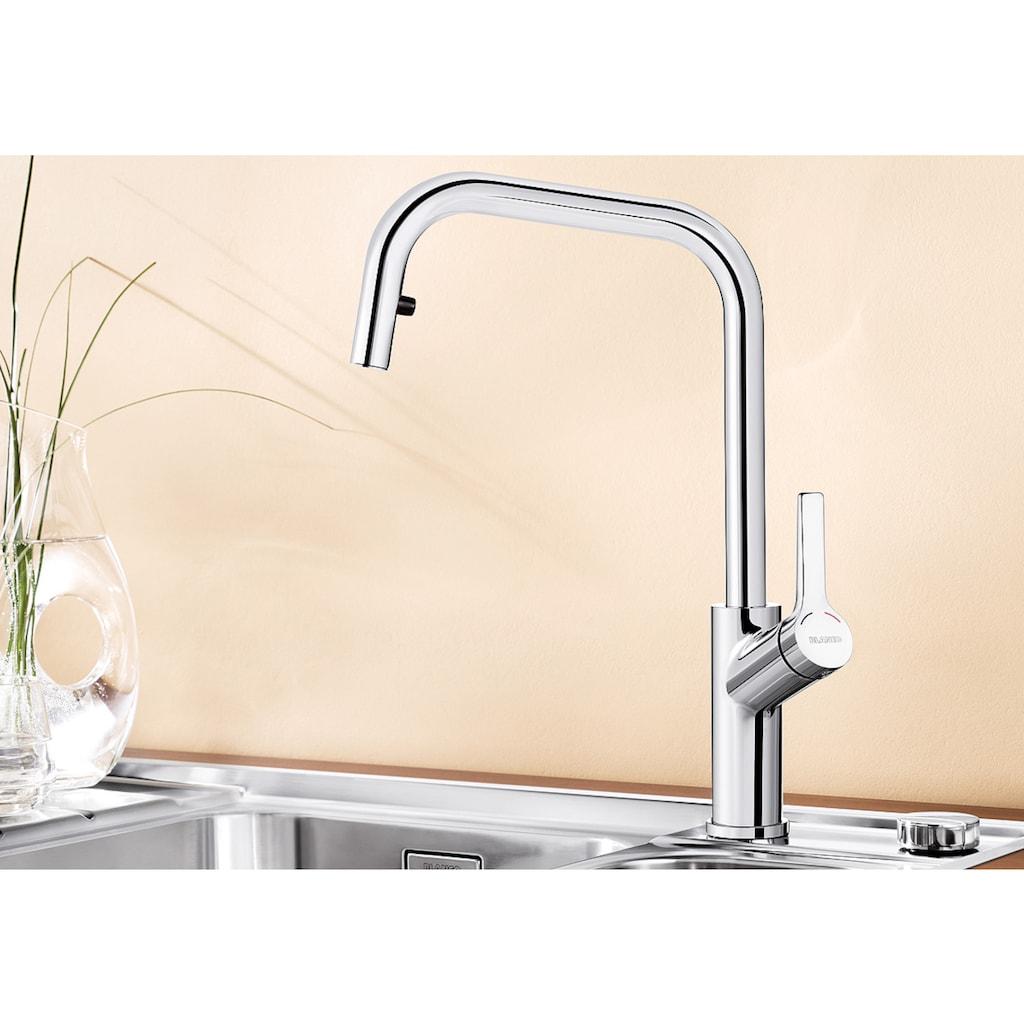 Blanco Küchenarmatur »JURENA-S«, Hochdruck, mit ausziehbarem Auslauf