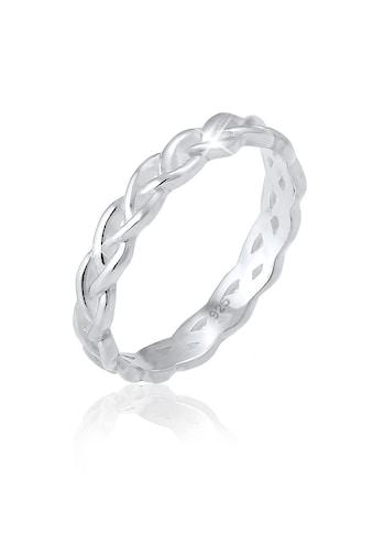 Elli Fingerring »Gedreht Geflochten Zopfmuster 925 Silber« kaufen