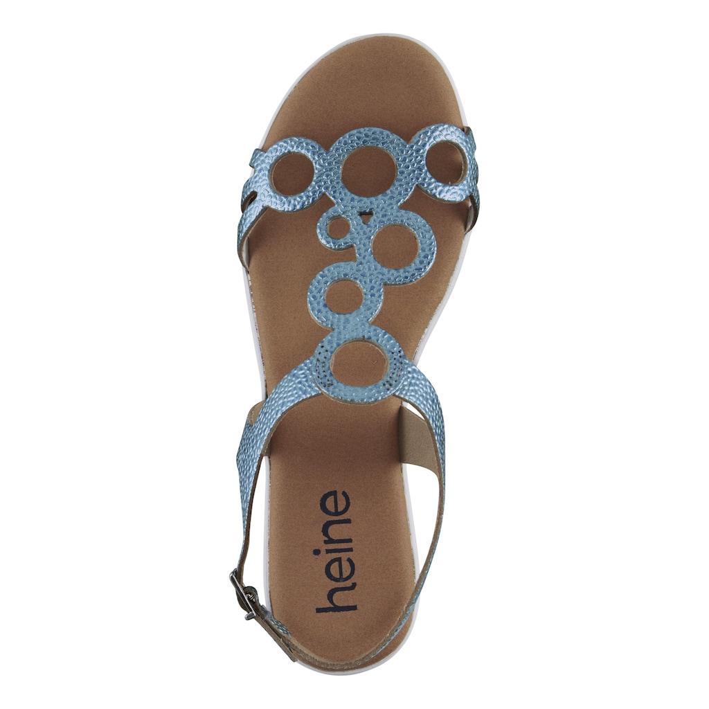 Sandalette mit T-Stap