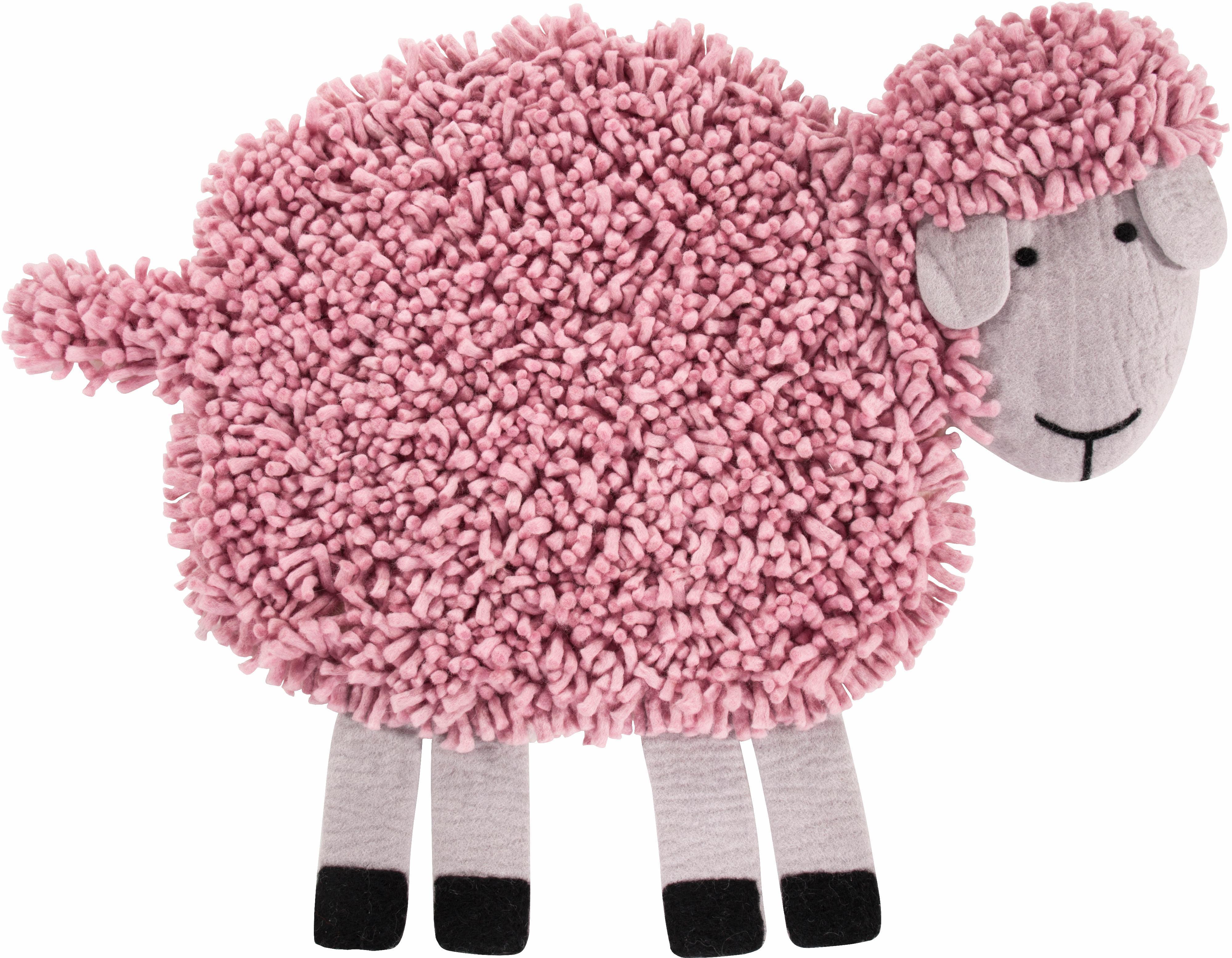 Kinderteppich Schaf Emma LUXOR living rechteckig Höhe 30 mm manuell geknüpft