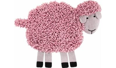 LUXOR living Kinderteppich »Schaf Emma«, Motivform, 30 mm Höhe, reine Wolle,... kaufen
