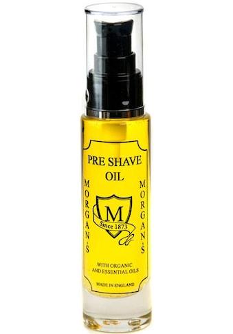 Morgan's Rasieröl »Pre Shave Oil«, bereitet die Haut auf die Rasur vor kaufen