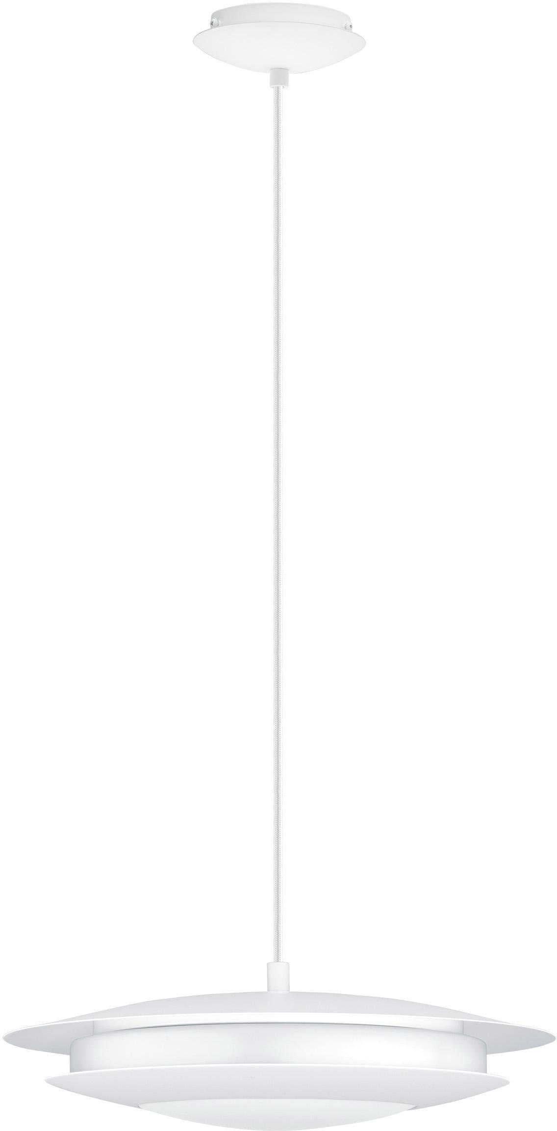 EGLO Pendelleuchte MONEVA-C, LED-Board, Warmweiß-Tageslichtweiß-Neutralweiß-Kaltweiß, Hängeleuchte, EGLO CONNECT, Steuerung über APP + Fernbedienung, BLE, CCT, RGB, dimmbar, Farbwechsel