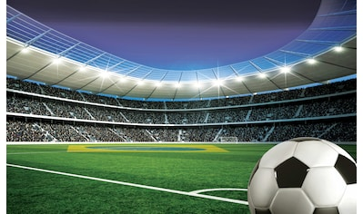 Consalnet Fototapete »Fußballplatz Stadion«, Motiv kaufen