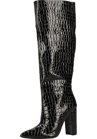 STEVE MADDEN High-Heel-Stiefel »Lederimitat« kaufen