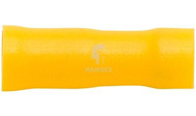 RAMSES Rundsteckhülsen - Set , vollisoliert gelb 6 mm 4  -  6 mm² 100 Stück kaufen