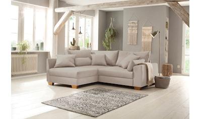 Home affaire Ecksofa »Helena Luxus«, mit besonders hochwertiger Polsterung für bis zu 140 kg pro Sitzfläche kaufen