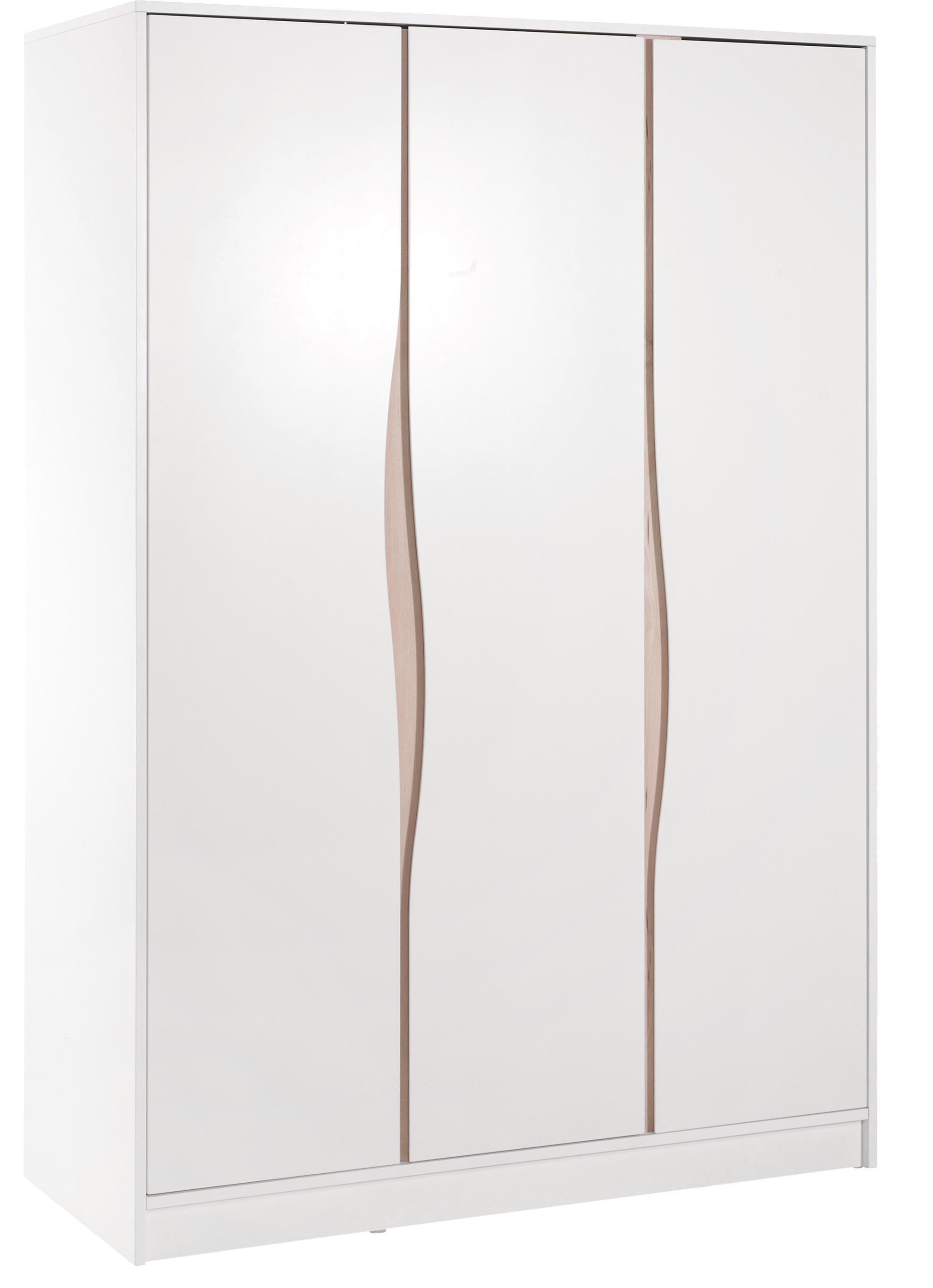 Geuther Kleiderschrank WAVE, 3-türig, Natur | Schlafzimmer > Kleiderschränke | Geuther