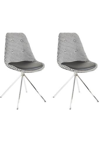 INOSIGN Esszimmerstuhl »Pepita«, Sitzschale mit Webstoff bezogen, Sitzkissen mit Bezug... kaufen