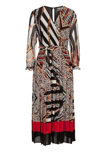 Nicowa Gemustertes Kleid NIGEA in Wickeloptik kaufen