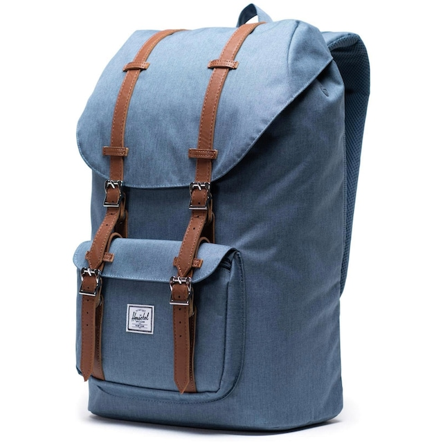Herschel Laptoprucksack »Little America, Blue Mirage Crosshatch«