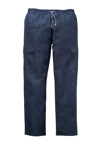Men Plus by HAPPYsize Cargo-Jeans mit Rundumgummibund kaufen