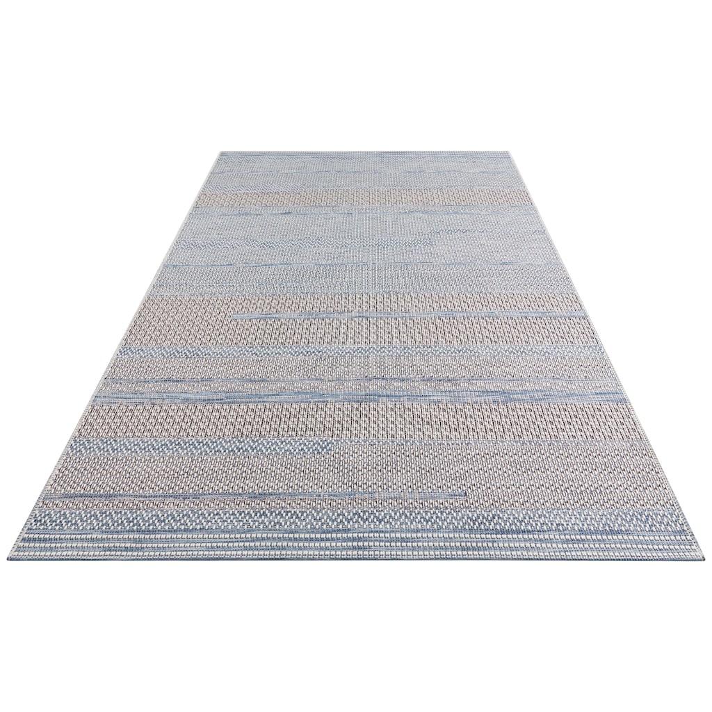 ELLE Decor Teppich »Marne«, rechteckig, 4 mm Höhe, In- und Outdoor geeignet, Wohnzimmer