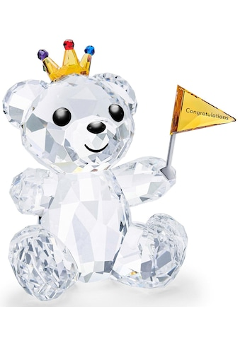 Swarovski Dekofigur »Kris Bär – Herzlichen Glückwunsch, 5492229«, Swarovski® Kristall... kaufen