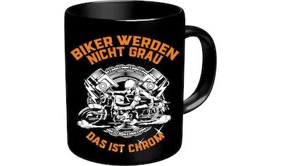 Rahmenlos Kaffeebecher für ältere Motorradfahrer kaufen