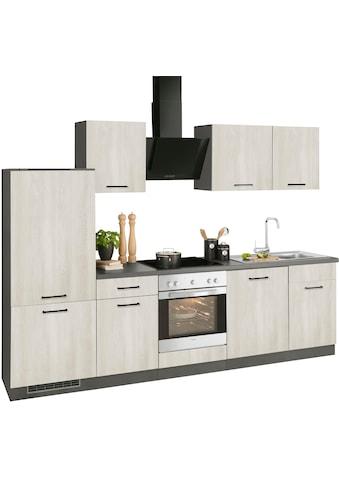 wiho Küchen Küchenzeile »Esbo«, mit E-Geräten, Breite 280 cm kaufen