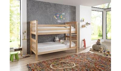 Relita Etagenbett »Kick«, wahlweise mit Bettschublade, Buche kaufen