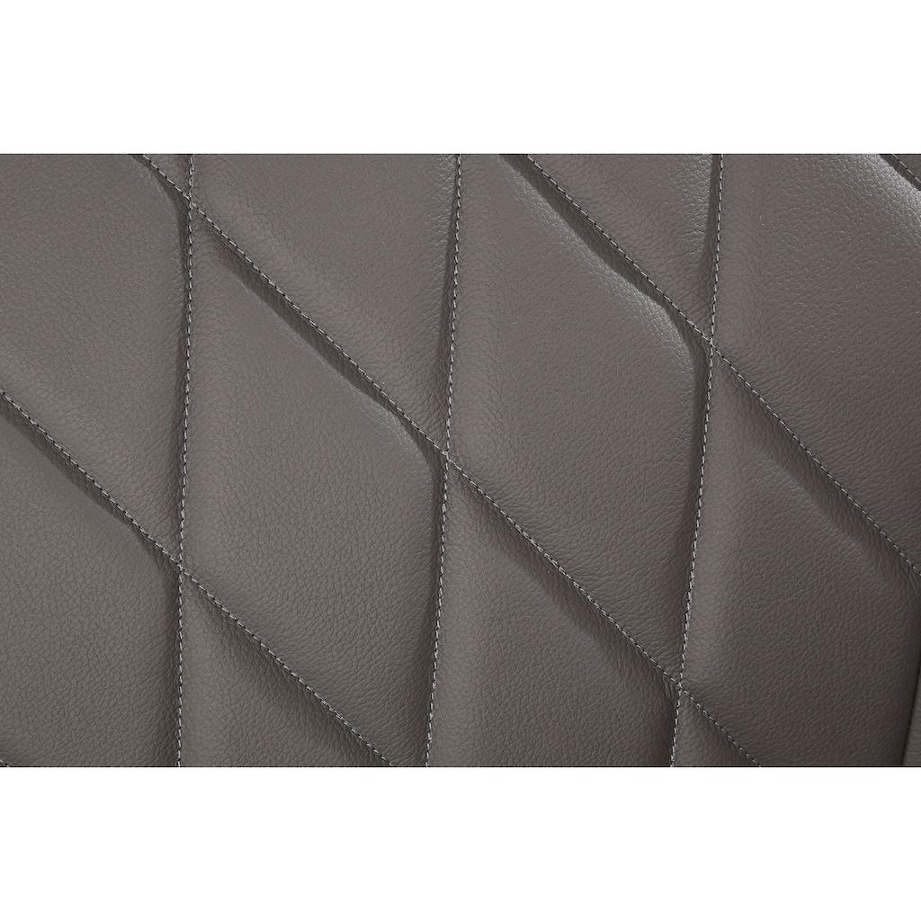 Sitzbank »Brest«, Rückenlehne mit Rautensteppung