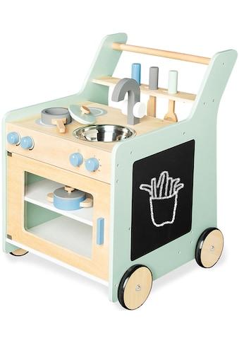 Pinolino® Spielküche »Kalle«, (6 St.), auch als Lauflernwagen nutzbar kaufen
