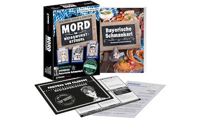 GMEINER Spiel »Mord im Weisswurst-Stüberl« kaufen