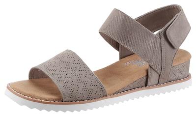 Skechers Sandalette »Desert Kiss«, mit feinem Lasercut kaufen