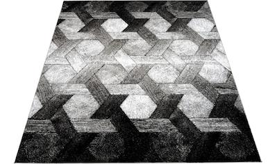 Bruno Banani Teppich »Janor«, rechteckig, 14 mm Höhe, Wohnzimmer kaufen