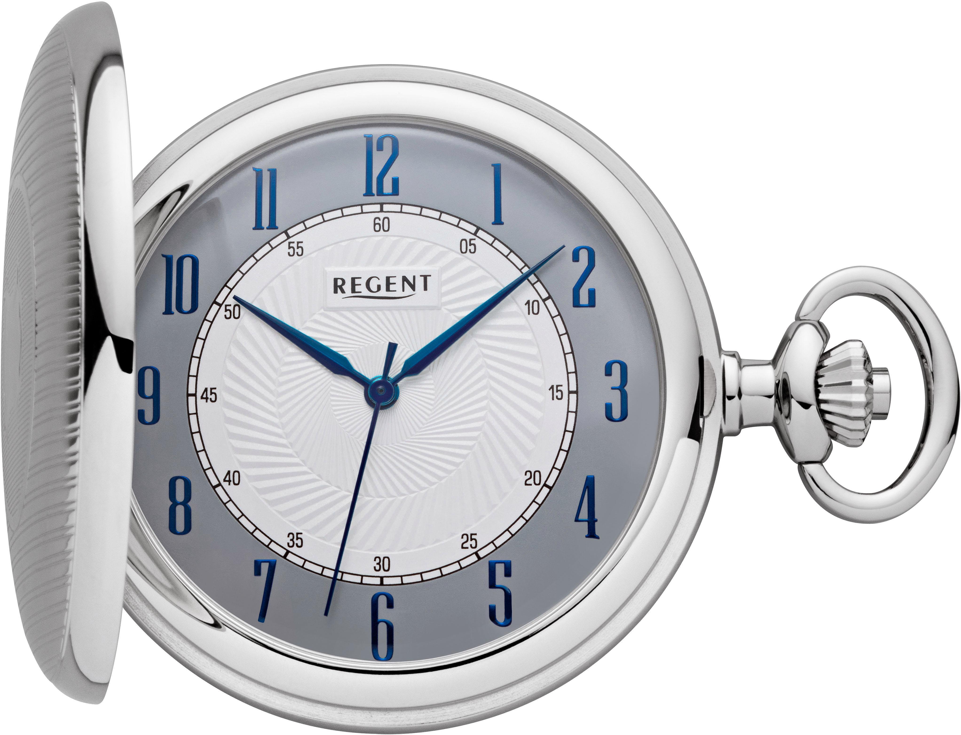 Regent Taschenuhr P603 (Set 2 tlg inkl Kette) | Uhren > Taschenuhren | Regent