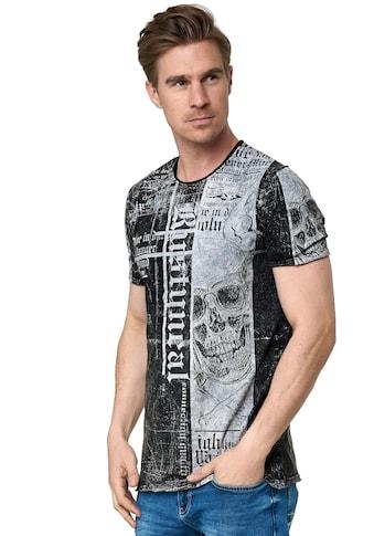 Rusty Neal T-Shirt, mit stylischem All-Over-Print kaufen