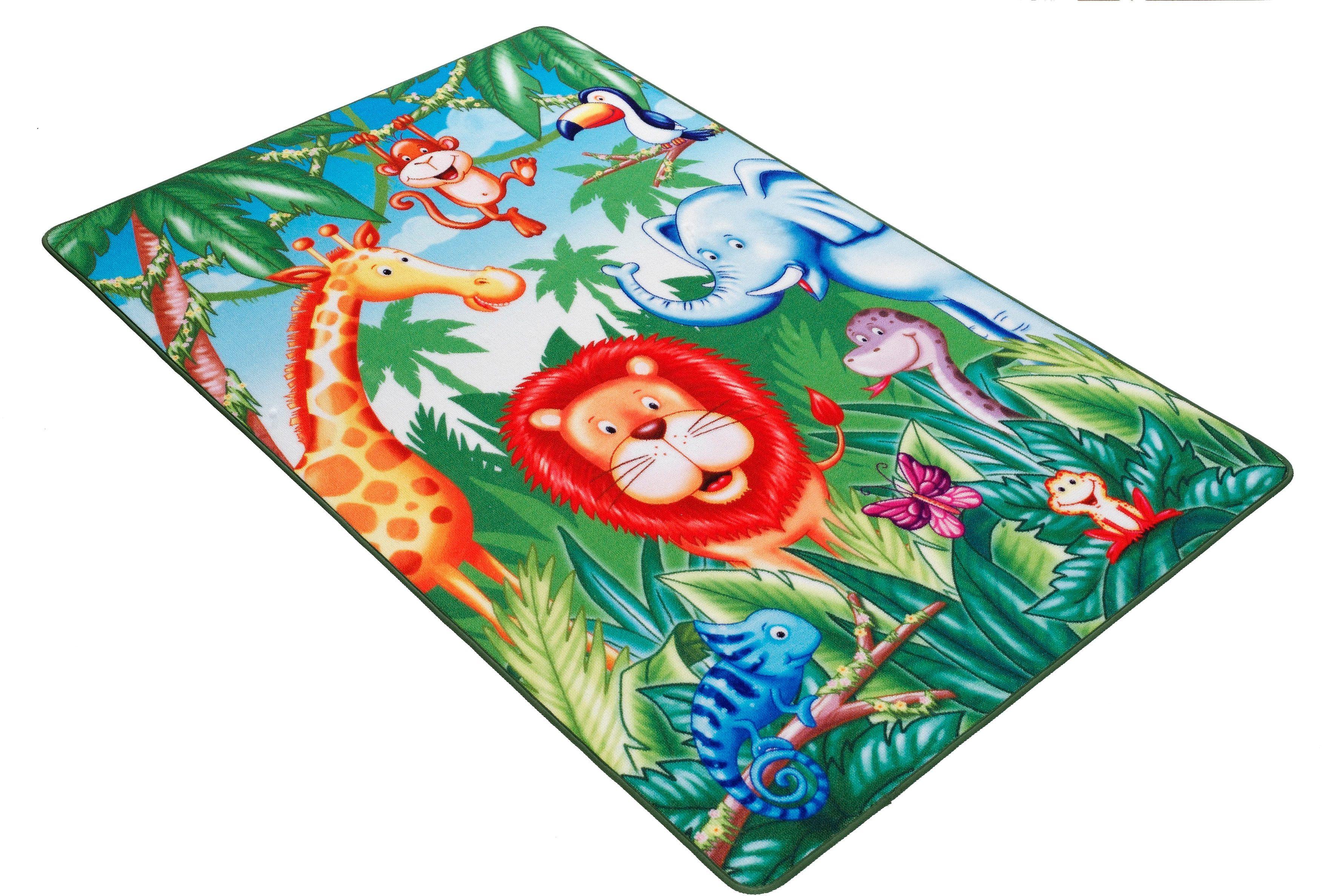 Kinderteppich Lovely Kids LK-6 Böing Carpet rechteckig Höhe 2 mm