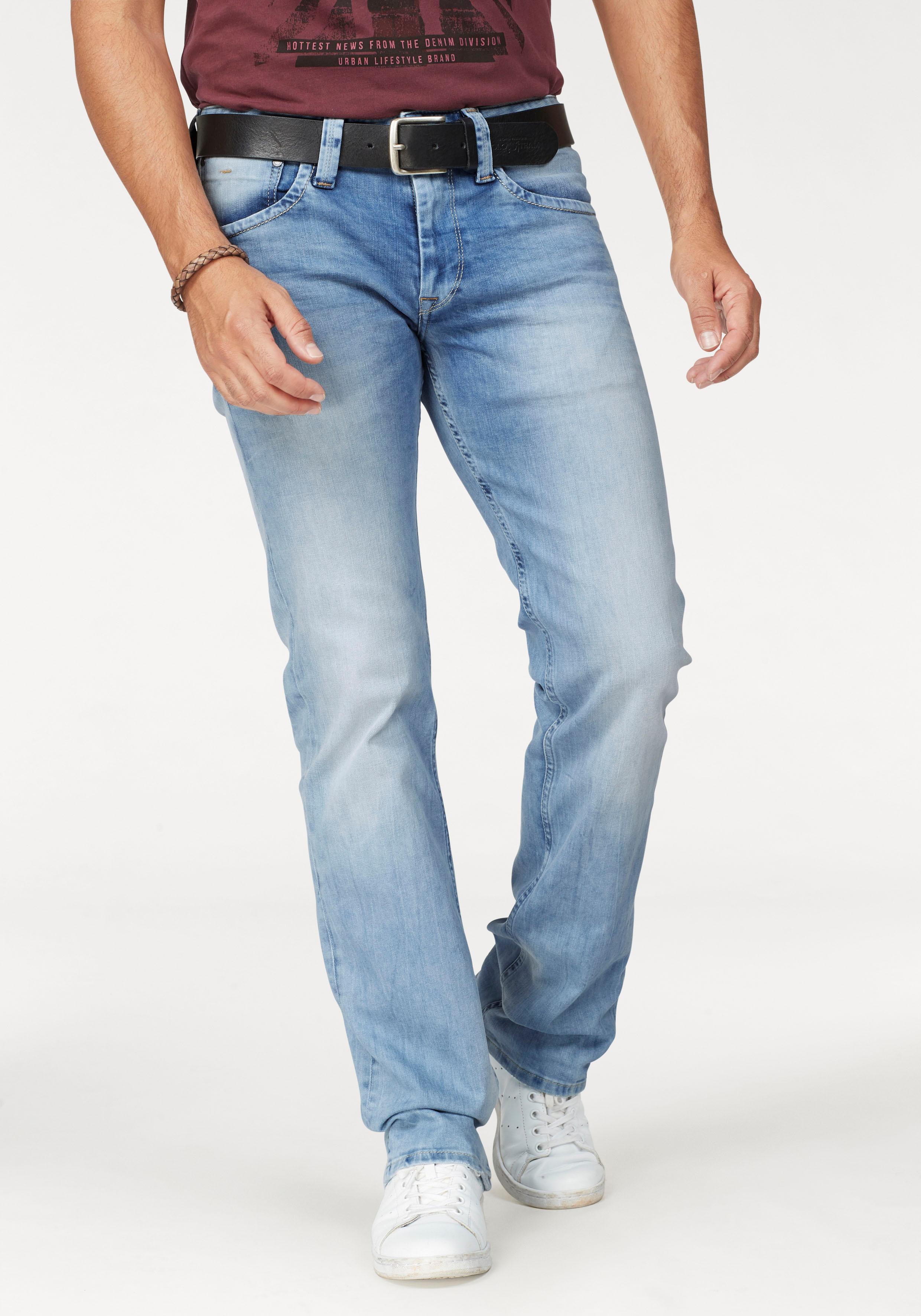 Pepe Jeans Straight-Jeans KINGSTON ZIP | Bekleidung > Jeans > Straight Leg Jeans | Pepe Jeans