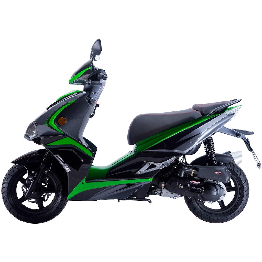 GT UNION Motorroller »Striker«, 50 cm³, 45 km/h, Euro 4, 3 PS