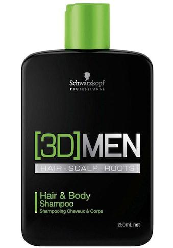 "Schwarzkopf Professional Haarshampoo ""[3D] Men Hair & Body Shampoo"", 1 - tlg. kaufen"