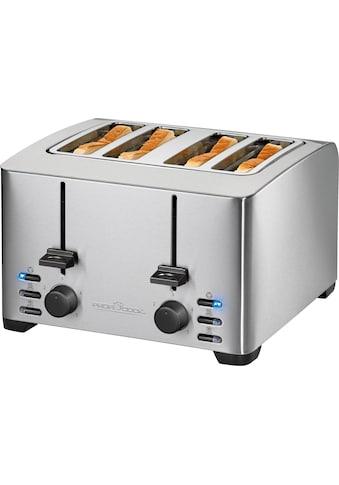 ProfiCook Toaster »PC - TA 1073«, für 4 Scheiben, 1500 Watt kaufen