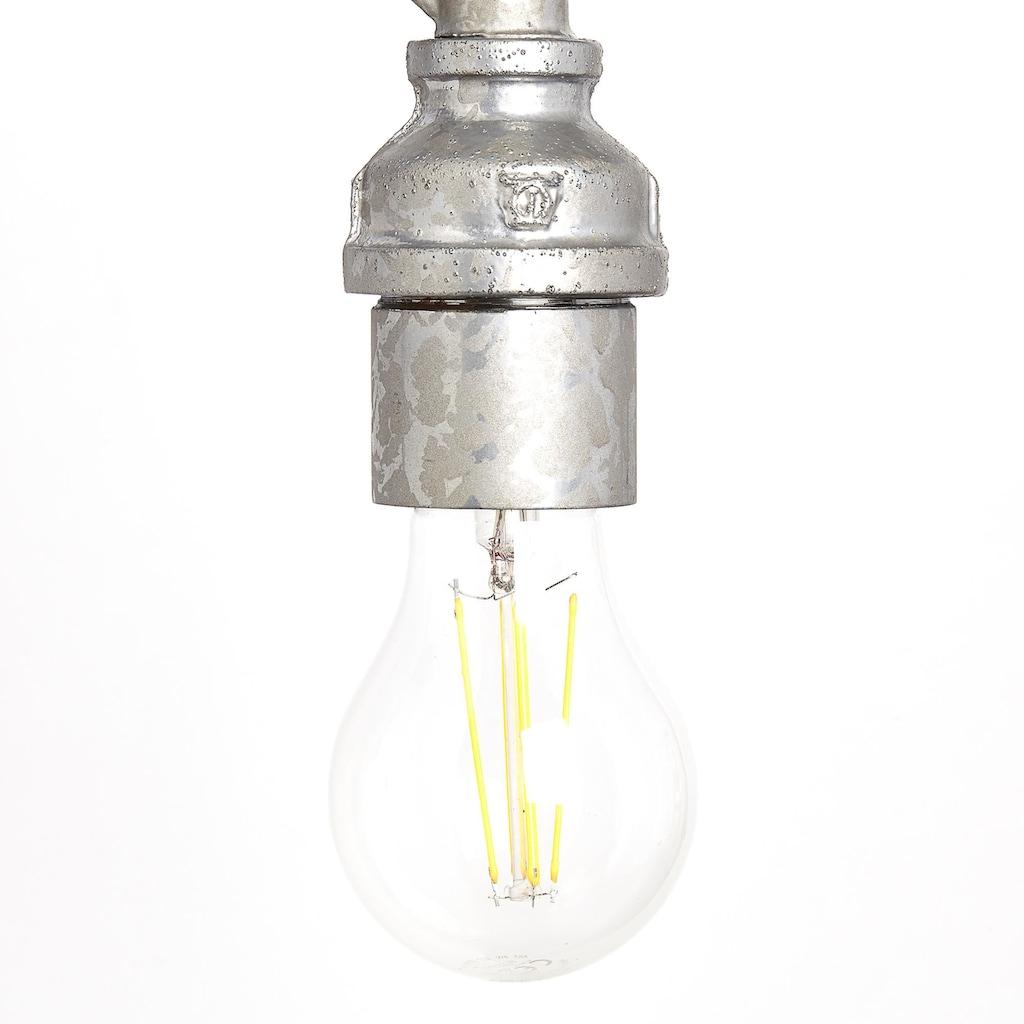 Brilliant Leuchten Pipe Wandleuchte zink antik