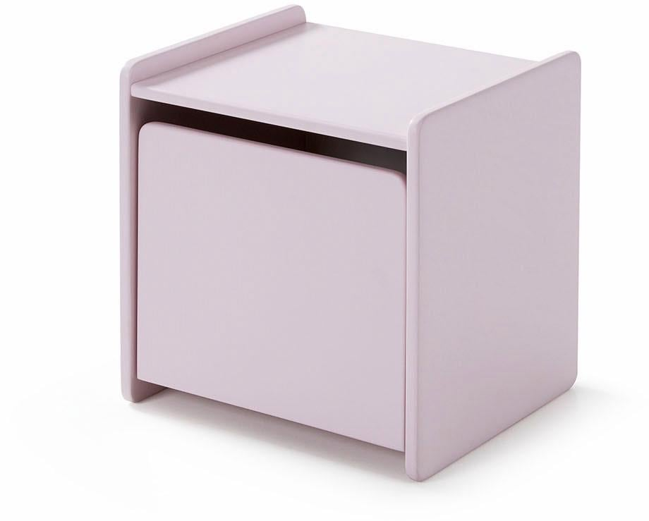 Vipack Nachttisch Kiddy MDF-Oberfläche | Schlafzimmer > Nachttische | Rosa | Vipack