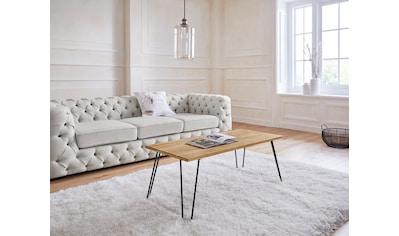 Guido Maria Kretschmer Home&Living Couchtisch »Sageisch«, aus Eiche massiv kaufen