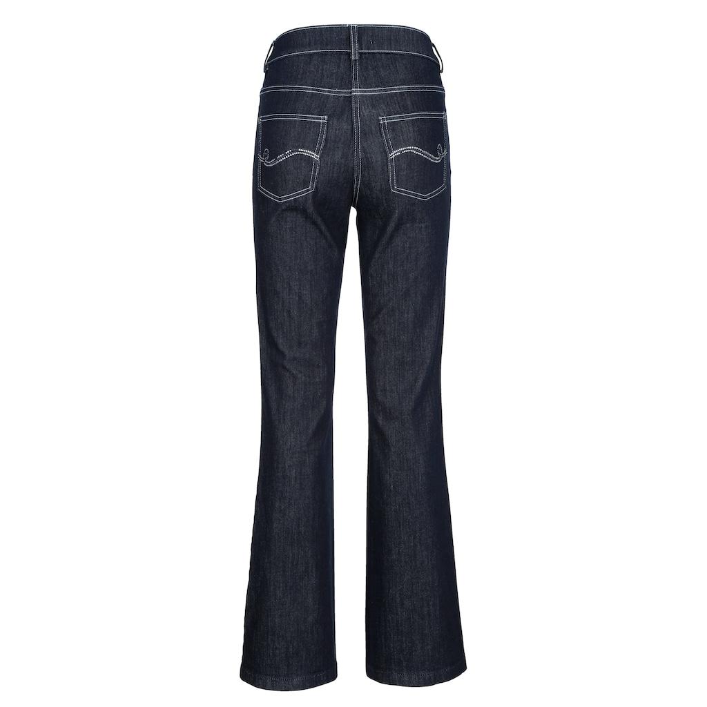 Alba Moda Bootcut-Jeans, in zwei Längen