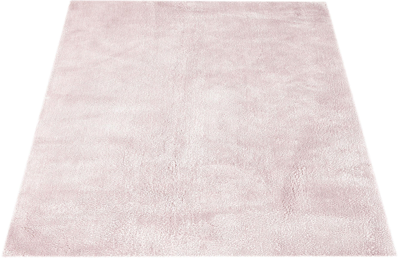 Hochflor-Teppich Carla Lüttenhütt rechteckig Höhe 40 mm handgewebt